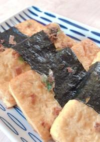 ヘルシーローカロリー☆お豆腐の磯辺巻き