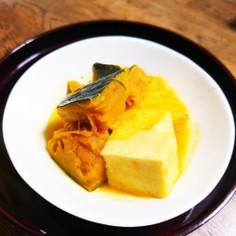 §娘に伝えたい§カボチャと高野豆腐の煮物
