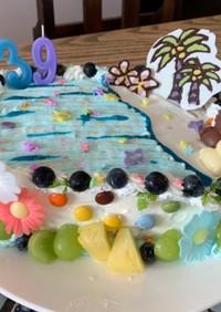 39バースデーケーキ