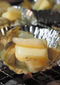 BBQに!バイ貝のニンニクバター醤油焼き