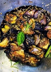 ハスノ実さんの麺つゆ使用の簡単揚げ茄子