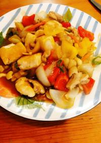 鶏肉と豆腐の甘酢煮