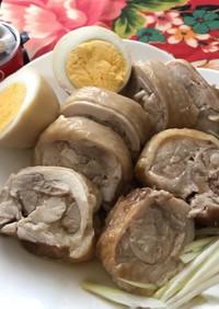 電鍋レシピ_鶏もも肉のチャーシュー&味玉