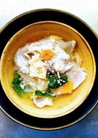 ハスノ実さんの豚バラ大根とキムチのスープ