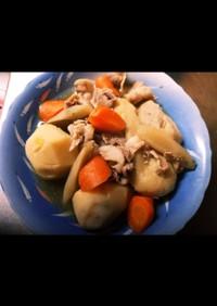 小芋と豚煮