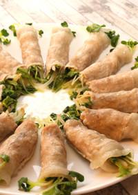 【レンジで簡単弁当おかず】豚肉の野菜巻き