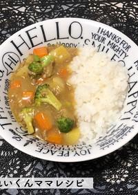 離乳食完了期★野菜たっぷり挽肉カレー