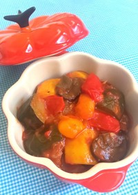 野菜1000g超えの簡単ラタトゥイユ