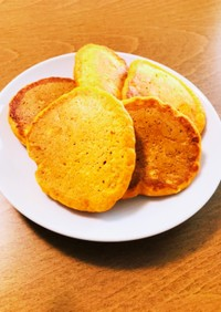 栄養満点◎野菜とうふパンケーキ