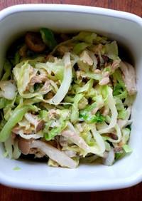 おツナ茹でキャベツの作り置きサラダ