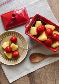 ミニトマトとパイナップルの蜂蜜きび酢漬け