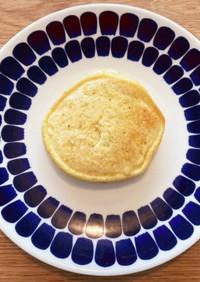 ベサン粉のパンケーキ