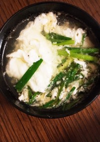 簡単☆卵白の中華風スープ