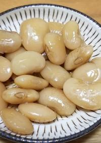 白花豆の甘煮