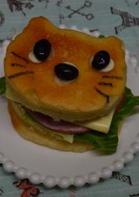 猫型でアーモンド・マフィン♪