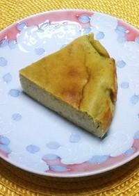 ほんのり香る♪抹茶のチーズケーキ