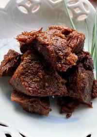 インドネシア♡ディアナさんの佃煮風牛肉