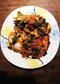 簡単調理♡♡サムジャン鶏もも味噌漬け焼き