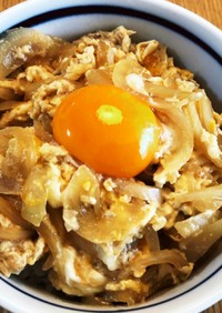 簡単麺つゆ卵丼