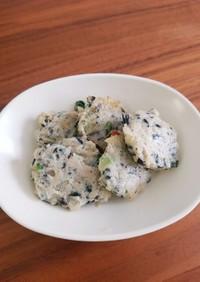 マグロの豆腐バーグ(離乳食完了期)