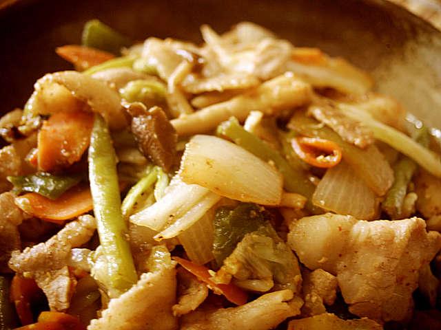 野菜 炒め 味噌 味
