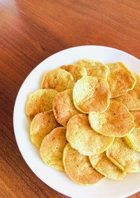 【離乳食後期】バナナと野菜のパンケーキ