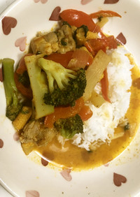 Bestペナンチキンカレー タイ料理