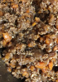 ジャージャー麺の肉味噌