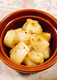 簡単!菊芋とスパイスの白ワイン煮込み
