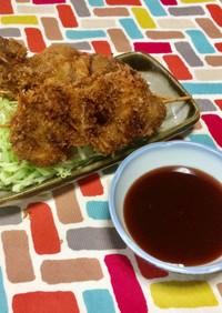 超簡単☆激うま特製カレーソースの豚串カツ