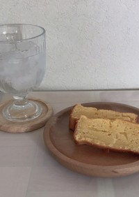 簡単メープルケーキ パウンド型