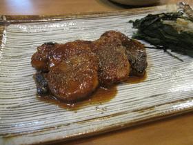豚ヒレ肉の山椒焼き