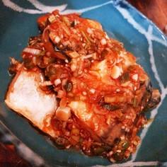 鯖の香味蒲焼き