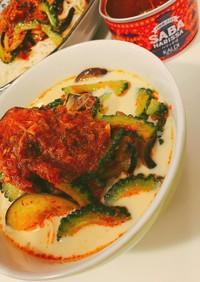 #ハリッサバ の冷やし豆乳坦々麺