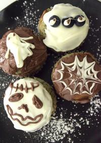 ハロウィン☆デコレーション・カップケーキ