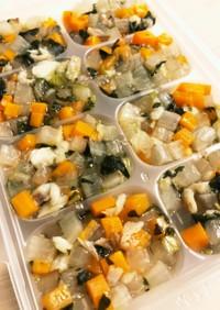 [離乳食後期]タラと野菜のとろとろ煮
