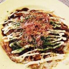 ☆簡単!山芋と豆腐でふわふわお好み焼き☆