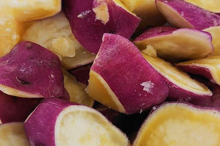 ふかし 芋 レンジ 甘〜い♡極上ふかし芋の簡単な作り方♪