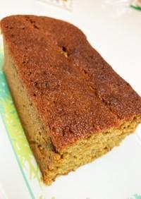 オートミール抹茶パウンドケーキ