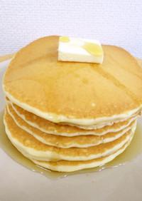 米粉のパンケーキ(プレーン・ココア)