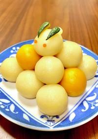 豆腐で簡単☆なんちゃって月見団子