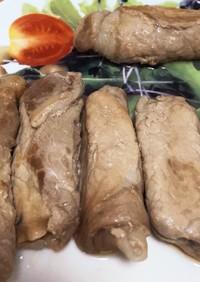 お弁当にも♬ナスの豚肉巻き