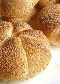 自家製酵母でハードパン!カイザーゼンメル