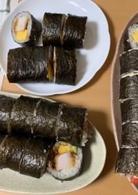 黄金比!カンタン酢飯で太巻き寿司
