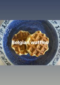 #簡単ベルギーワッフル
