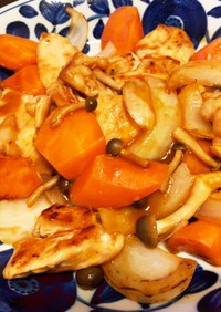 ケチャップ+ソースで簡単!酢鶏(酢豚)