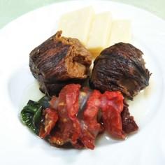 栗の渋皮煮とドライトマト