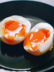 かんたん極半熟ゆで卵!ゆで時間は6分の写真