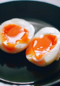 かんたん極半熟ゆで卵!ゆで時間は6分