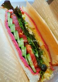 海老ブロたま☆サンドイッチ